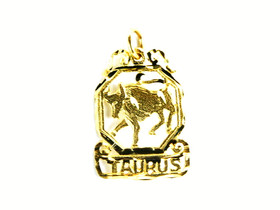 14K Yellow Gold Taurus Charm 50000324
