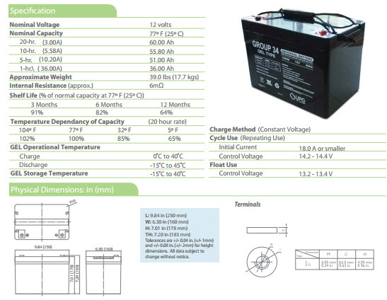 40500 specs?t=1398815457 ub12600 gel group 34 battery batteryspecialist ca rbc57 wiring diagram at crackthecode.co