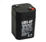 UB5-6F - 6 Volts 5Ah - Terminal F1 - Battery - UB650F | Battery Specialist Canada
