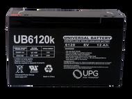 UB6120 F1 - 6V 12Ah | Battery Specialist Canada