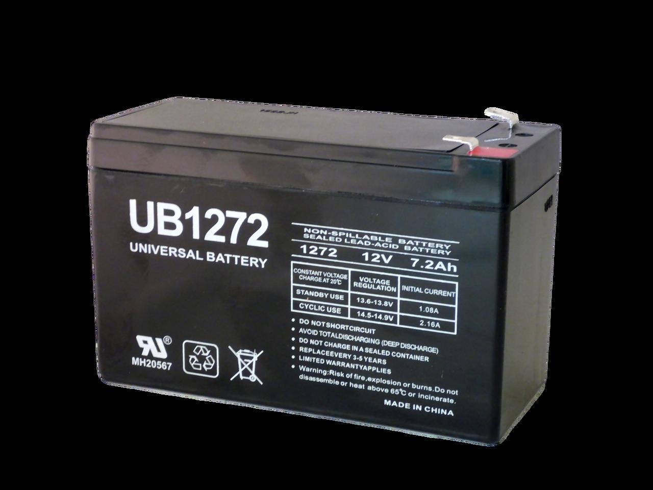 universal battery ub1272. Black Bedroom Furniture Sets. Home Design Ideas