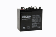 12 Volts 55Ah -Terminal Z1 - SLA/AGM Battery - UB12550 - + ON LEFT
