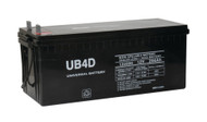 12 Volts 200Ah -Terminal L4 - SLA/AGM Battery - UB-4D AGM | Battery Specialist Canada