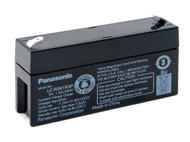 Panasonic SLA Battery - LC-R061R3P - 6V 1.3Ah - Terminal Size 0.187 | Battery Specialist Canada