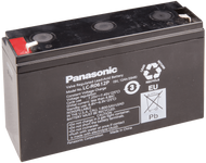 Panasonic SLA Battery - LC-R0612P - 6V 12Ah - Terminal Size 0.187 | Battery Specialist Canada