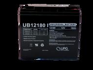 2 Volts 18Ah -Terminal I2 -SLA/AGM Battery Front | BatterySpecialist Canada