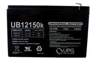 12V 15AH F2 APC BK650MC BK650S BK650X06 Battery Side| Battery Specialist Canada