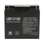 12V / 18Ah Sealed Lead Acid Battery with Nut and Bolt Terminals - UVUB12180B1| Battery Specialist Canada