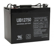 UB12750 - SLA battery 12 volt 75 amp hour| Battery Specialist Canada
