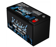 Kinetik BLU 400 Watt 12V 12Ah Power Cell - HC400-BLU Side Image | Battery Specialist Canada