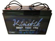 Kinetik BLU 2400 Watt 12V 110Ah Power Cell | Battery Specialist Canada