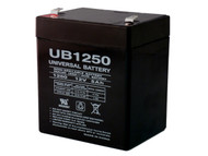 12V 5AH Alarm Battery Replaces 4.5Ah GS Portalac PE12V4.5| Battery Specialist Canada