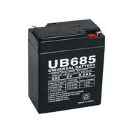 6V 8.5AH Brooks Equipment BAT68 Replacement Battery| Battery Specialist Canada