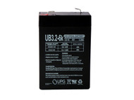 6V 3.2Ah BATTERY REPLACES Kung Long WP2.8-6| Battery Specialist Canada