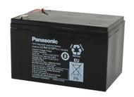 RBC6 Panasonic Battery - 12V 12Ah - Terminal Size 0.25 - LC-RA1212P1 - 2 Pack