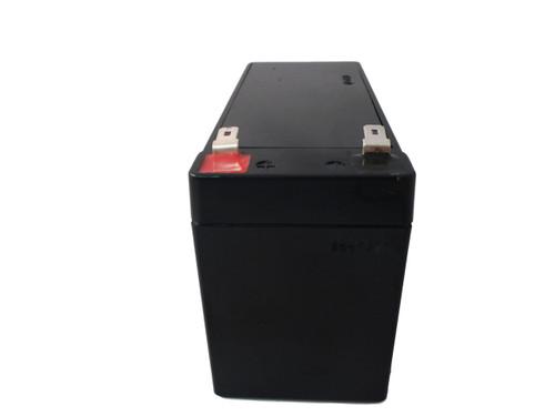 RBC51 Flame Retardant Universal Battery - 12 Volts 7Ah - Terminal F2 - UB1270FR Side| Battery Specialist Canada