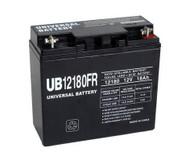 F6B750-AVR Flame Retardant Universal Battery -12 Volts 18Ah -Terminal T4- UB12180FR - 2 Pack  Battery Specialist Canada
