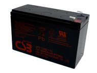 F6H650-USB UPS CSB Battery - 12 Volts 7.5Ah - 60 Watts Per Cell - Terminal F2 - UPS123607F2| Battery Specialist Canada