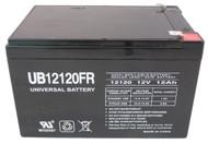 Pro NETUPS F6C100 Flame Retardant Universal Battery -12 Volts 12Ah -Terminal F2- UB12120FR - 2 Pack  Battery Specialist Canada