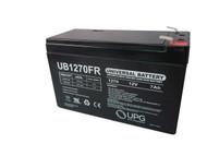 OP650 Flame Retardant Universal Battery - 12 Volts 7Ah - Terminal F2 - UB1270FR| Battery Specialist Canada