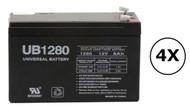 PR2200LCDRTXL2U Universal Battery - 12 Volts 8Ah - Terminal F2 - UB1280| Battery Specialist Canada