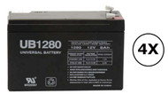 RB1290X4D Universal Battery - 12 Volts 8Ah - Terminal F2 - UB1280| Battery Specialist Canada