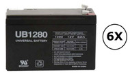 RB1290X6PS Universal Battery - 12 Volts 8Ah - Terminal F2 - UB1280| Battery Specialist Canada