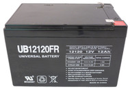 90P4829 Flame Retardant Universal Battery -12 Volts 12Ah -Terminal F2- UB12120FR - 2 Pack  Battery Specialist Canada
