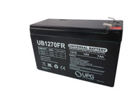 HP PowerWise 1000 Flame Retardant Universal Battery - 12 Volts 7Ah - Terminal F2 - UB1270FR - 4 Pack| Battery Specialist Canada