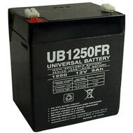 Tripp Lite INTERNET525U Flame Retardant Universal Battery - 12 Volts 5Ah - Terminal F1 - UB1250FR| Battery Specialist Canada