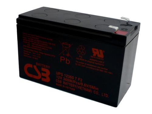 Tripp Lite SMART2200RMXL2U UPS CSB Battery - 12 Volts 7.5Ah - 60 Watts Per Cell -Terminal F2  - UPS123607F2 - 4 Pack| Battery Specialist Canada