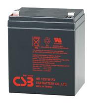 Liebert Powersure PA350-120U High Rate CSB Battery - 12 Volts 5.1Ah - 21 Watts Per Cell - Terminal F2 | Battery Specialist Canada