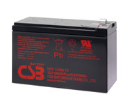 PS 1000MT Liebert CBS Battery - Terminal F2 - 12 Volt 10Ah - 96.7 Watts Per Cell - UPS12580 - 3 Pack| Battery Specialist Canada