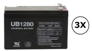 1000W - J4G4P Universal Battery - 12 Volts 8Ah - Terminal F2 - UB1280| Battery Specialist Canada