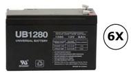 1920W - K792N-2U Universal Battery - 12 Volts 8Ah - Terminal F2 - UB1280| Battery Specialist Canada