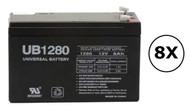 2700W - H950N-4U Universal Battery - 12 Volts 8Ah - Terminal F2 - UB1280| Battery Specialist Canada