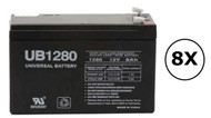 2700W - K802N-3U Universal Battery - 12 Volts 8Ah - Terminal F2 - UB1280| Battery Specialist Canada