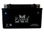 AGM Maintenance-Free Battery - YTX7A UTX7A Front  batteryspecialist.ca