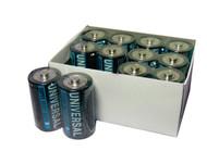 D Batteries - 144 Pack - Universal Alkaline Batteries - D5315 - D5915 | Battery Specialist Canada