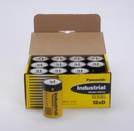 D Batteries - 72 Pack - Panasonic Industrial Alkaline Batteries - C3788.  Battery Specialist Canada