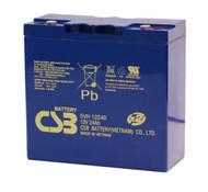 EVH12240 - 12V 24Ah CSB Battery | batteryspecialist.ca
