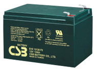 12V 12Ah - High Cycle - CSB Battery - EVX12120 | Battery Specialist Canada