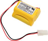 Aritech DU140 NiCd Battery - 6V - 700mAh | Battery Specialist Canada