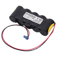Baghelli 026-139 NiCd Battery - 6V - 1900mAh | Battery Specialist Canada