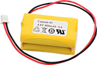 Interstate - NIC0186 - NiCd Battery - 4.8V - 800mAh | Battery Specialist Canada