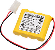 Interstate - NIC0546 - NiCd Battery - 4.8V - 800mAh | Battery Specialist Canada