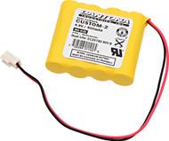 NABC - 721259000 - NiCd Battery - 4.8V - 800mAh | Battery Specialist Canada