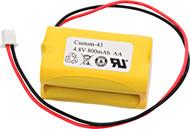 Simkar - 6600012 - NiCd Battery - 4.8V - 800mAh | Battery Specialist Canada