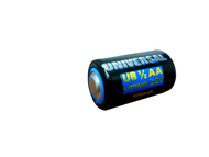 Universal 1/2 AA - 3.6V Lithium Cell - 500 mAh   Battery Specialist Canada