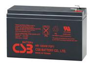 12V 6.4Ah - 24 Watts Per Cell - F2 F1 Terminal - CSB Battery - HR1224WF2F1 | Battery Specialist Canada